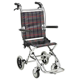 Aluminum alloy nursing ultra facile travel wheelchair ALK900L