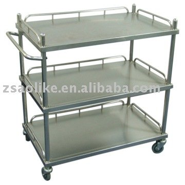 Stainless steel Medical Cart