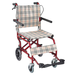Aluminum alloy nursing ultra facile travel wheelchair ALK901LAJ