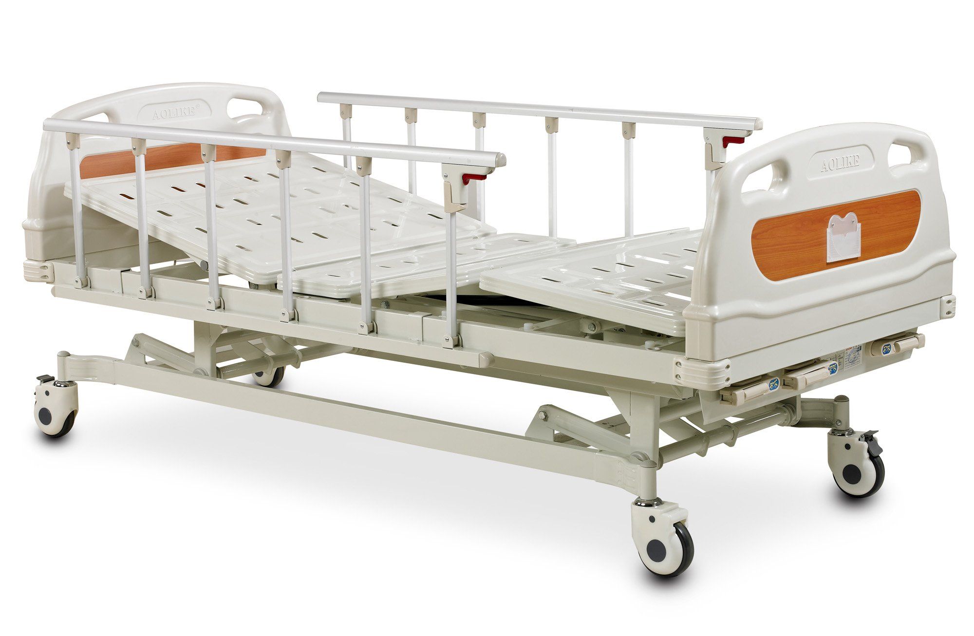 3 crank high quality and inexpensive manual hospital bed