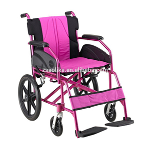 Lightweight aluminum wheelchair for sale ALK867LB